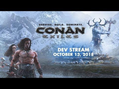 Conan Exiles Devstream - Thrall inventories, new building pieces, repair system