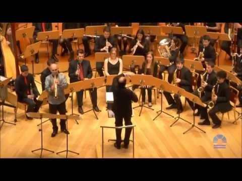 John Mackey soprano saxophone concerto. 3rd mov