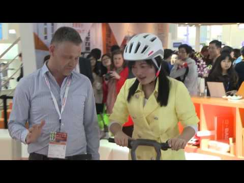 e-floater scooter at CHINAPLAS 2016