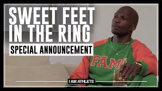 Sweet Feet Takes The Ring | MONDAY MORNING HEADLINES I AM ATHLETE with Chad Johnson