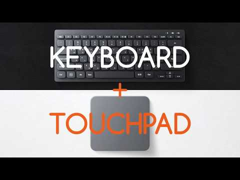 Mokibo: 2-in-1 Keyboard Embedded with Touchpad