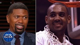 Young Jalen Rose thought Grant Hill's AAU team was soft ... until the game happened | Off the Clock