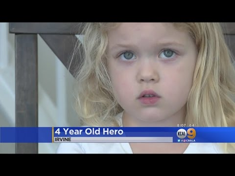 4-Year-Old Girl Saves Family From Possible Fire In Irvine Home