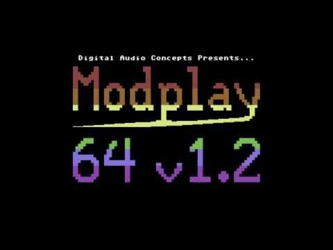 Modplay64 v1.2e - Playing some Amiga Mods on a C64
