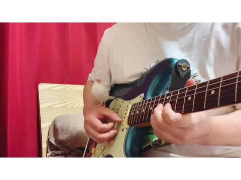ギターであつ森のテーマ練習してたら文鳥が歌ってくる