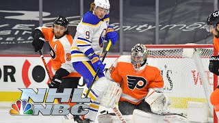 Buffalo Sabres vs. Philadelphia Flyers | EXTENDED HIGHLIGHTS | 1/18/21 | NBC Sports
