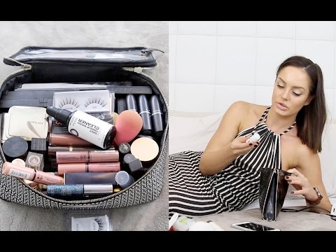 """WHAT'S IN MY MAKEUP BAG"""" \ HOLIDAYING IN LOS ANGELES"""