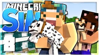 CREATING A PET STORE! | EP 8 | SimsCraft (Minecraft Youtuber Server)