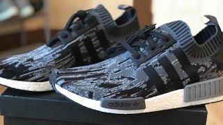 Đập hộp giày NMD-R1-Unboxing Adidas NMD-R1-PK- gray