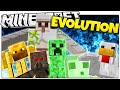 Minecraft | MOB EVOLUTION! | Transform or DIE (Minecraft Mini Game)