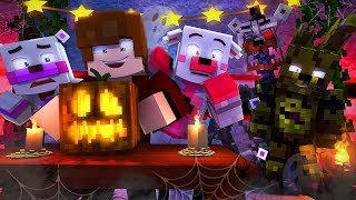 Minecraft FNAF 6 Pizzeria Simulator - HALLOWEEN THEMED PIZZARIA! (Minecraft Roleplay)