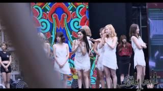 exoyoong moment#31: 150905 Trainee chinggus Yoona and Suho at DMC