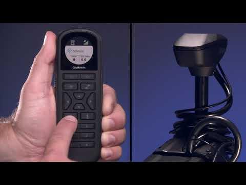 Garmin Marine - Moteur électrique Force™: utilisation de la télécommande