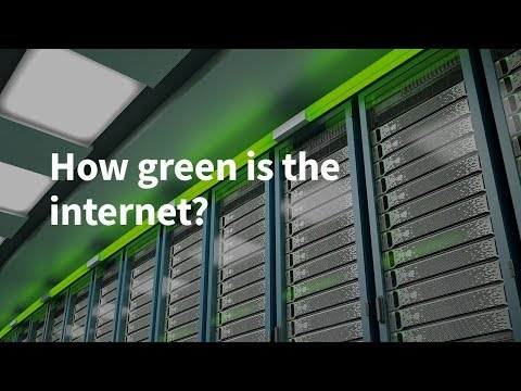 How Green Is the Internet?