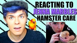 Pet Youtuber Reacts to Jenna Marbles Hamster Care!!