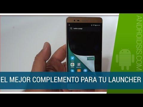 ¡¡IMPRESIONANTE!!. El mejor complemento para tu Launcher Android