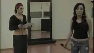 Myriam y Colette ensayando 22