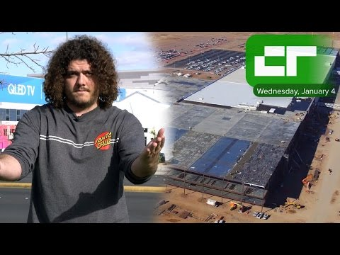 Tesla's Gigafactory Starts Battery Production | Crunch Report