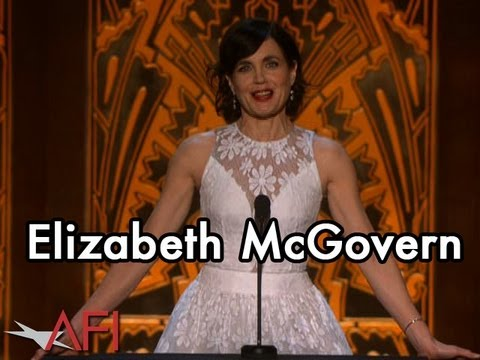Elizabeth McGovern Salutes her Downton Abbey