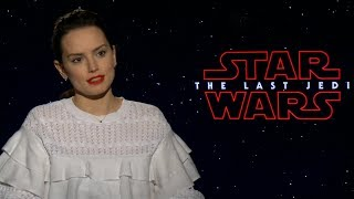 Daisy Ridley teases answers in 'The Last Jedi'