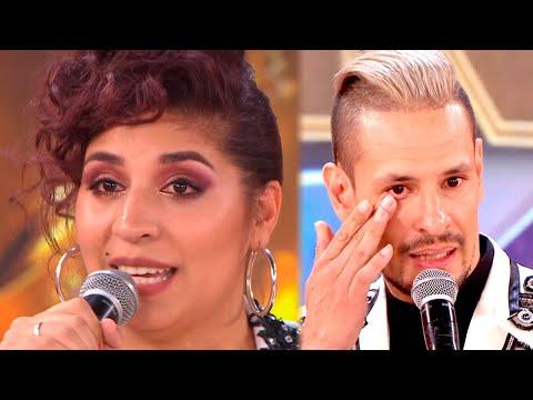 Rocío Quiroz y Rodrigo Tapari con nudos en la garganta agradecidos de participar en Cantando 2020