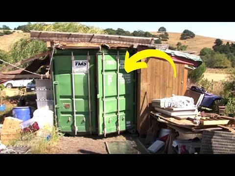 Majka živi sa kćerkom u ovom kontejneru. No, pričekajte dok ne vidite unutrašnjost!