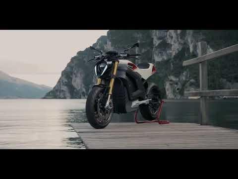 Italian Volt Lacama - Enjoy the custom electric motorcycle revolution
