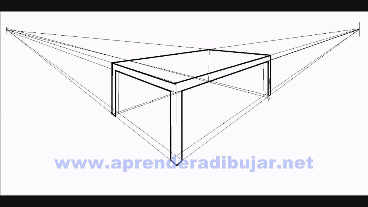Como Dibujar Una Mesa En Perspectiva Dibujos De Mesas