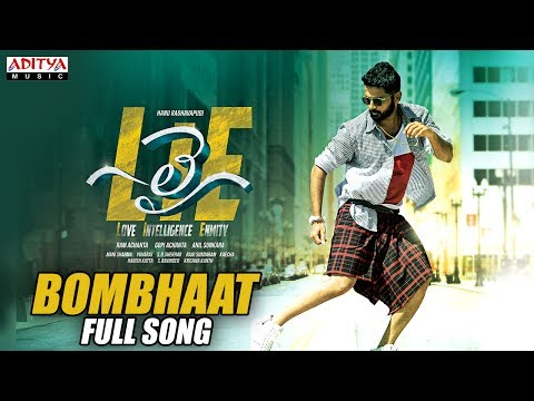 Bombhaat-Full-Song---Lie-Songs---Nithiin---Megha-Akash