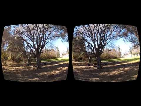 Oculus Rift 3D GoPro Movie - CC3D In The Park