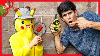 POKÉMON Detective Pikachu and the LEGO SPY GADGETS MYSTERY!