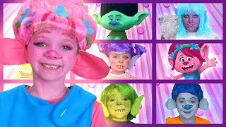 Trolls | Finger Family Songs