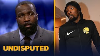 Kendrick Perkins doubles down on his remarks on why Kevin Durant left Warriors   NBA   UNDISPUTED