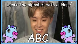 LEARN THE ALPHABET WITH BTS' J-HOPE