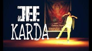 Jee Karda | solo dance performance Morya 2k17 | choreography by shri patil