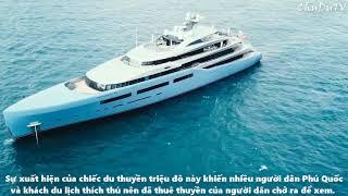 Hình ảnh siêu du thuyền Aviva từ Phú Quốc đến Hạ Long của tỷ phú người Anh Joe Lewis