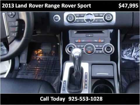 2013 Land Rover Range Rover Sport Used Cars San Ramon CA