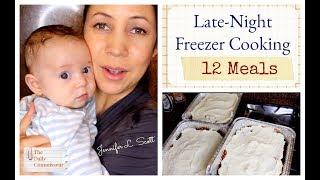 Late Night Freezer Cooking | 12 Meals | Jennifer L. Scott