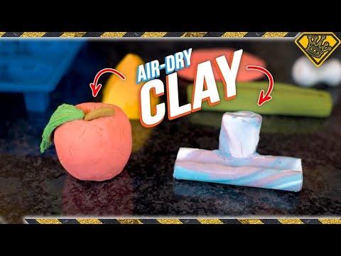 Make CLAY with Baking Soda & Cornstarch