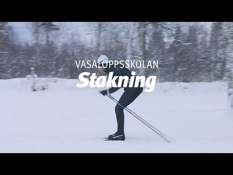 Vasaloppsskolan – Stakning (Träna på snö del 2 av 4)