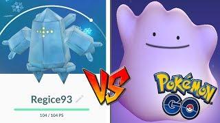 QUÉ PASA si USO DITTO CONTRA REGICE en Pokémon GO! Nuevo Legendario! [Keibron]