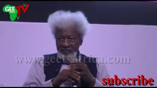 """Fake News: """"Behold your redeemer"""" ......Prof. Wole Soyinka"""