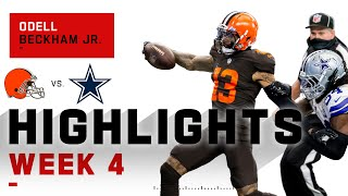 OBJ Goes NUCLEAR w/ 154 Total Yds & 3 TDs! | NFL 2020 Highlights