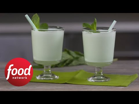 Boozy Mint Schnapps Shakes | Food Network