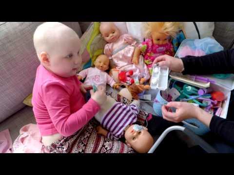 Ester, 3 år - inslag i Barncancergalan 2016