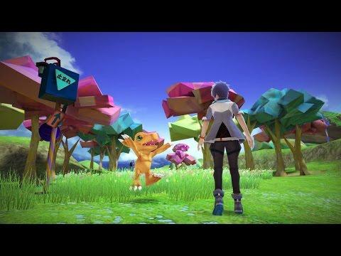 5 Minutes of Digimon World: Next Order Gameplay - PSX 2016