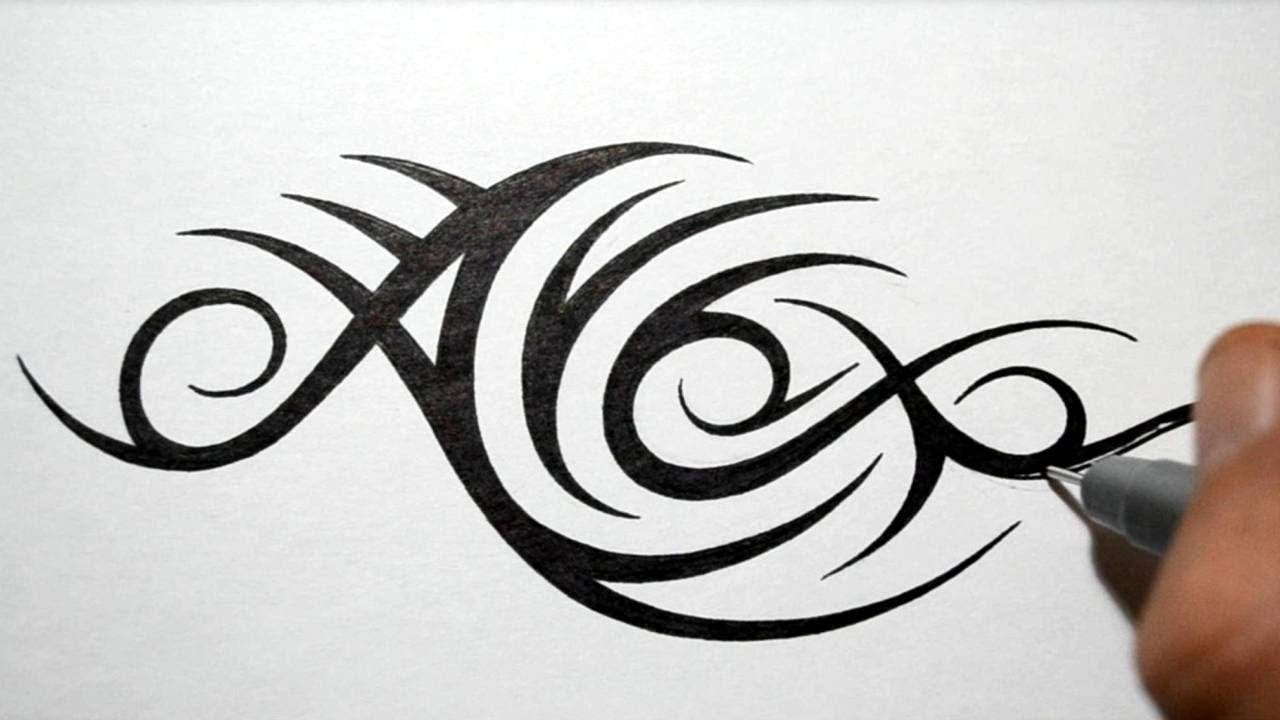 Tribal Name Tattoo Design: Designing Tribal Name Tattoo Design