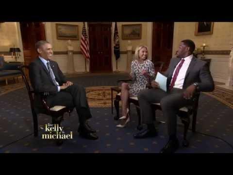 President Obama talks about Malia's Prom