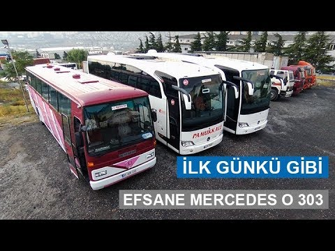 Mercedes O 303 Europa Nostaljik - Sıfır Gibi Efsane Otobüs !