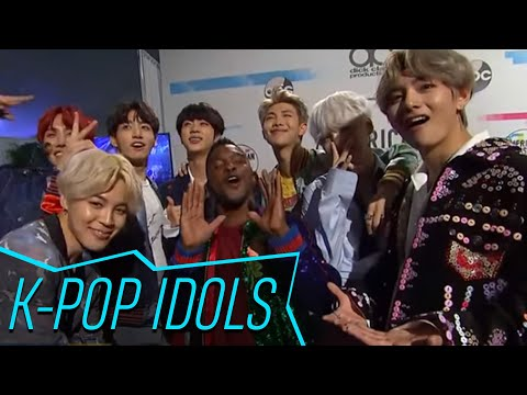 BTS On Their Epic AMAs Performance & How The BTS Army Supports Them | Access Hollywood